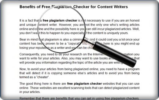 free plagiarism scanner