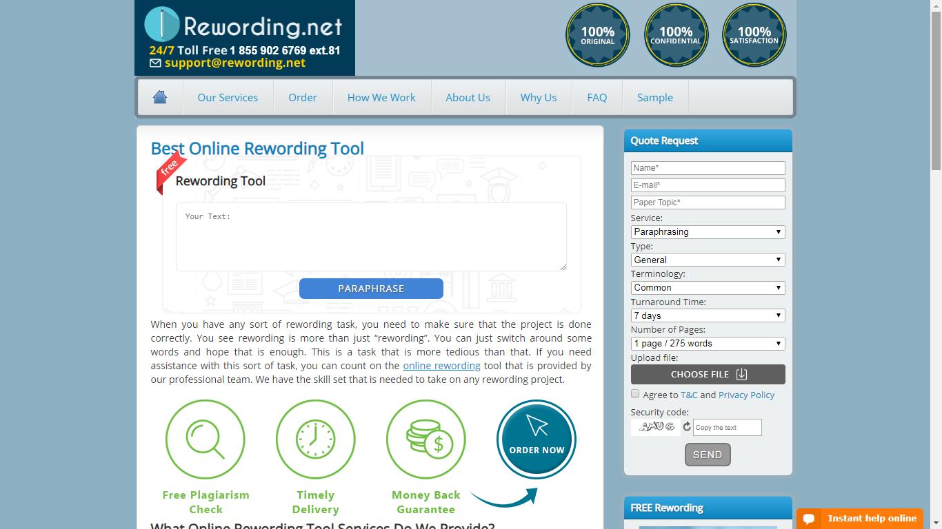 rewording.net review