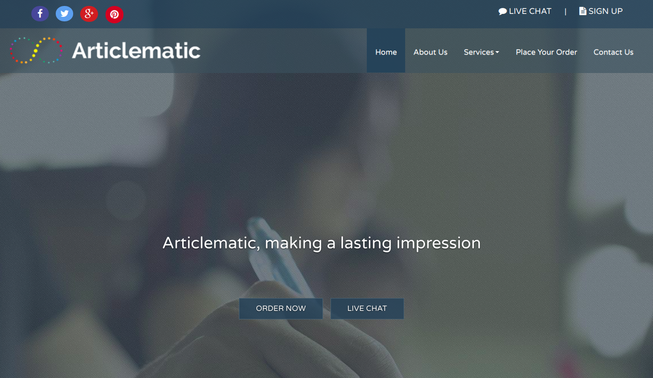 articlematic.com article rewriting