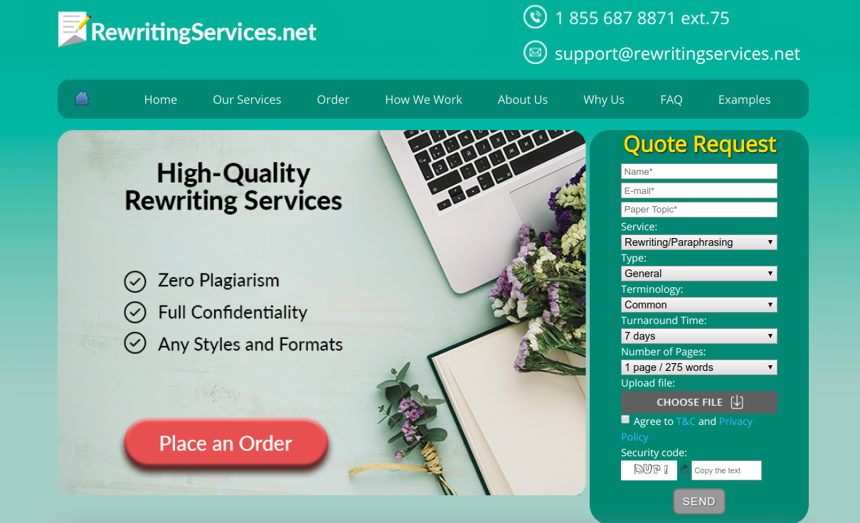 rewritingservices.net rewriting services