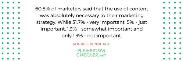 importance of content statistics