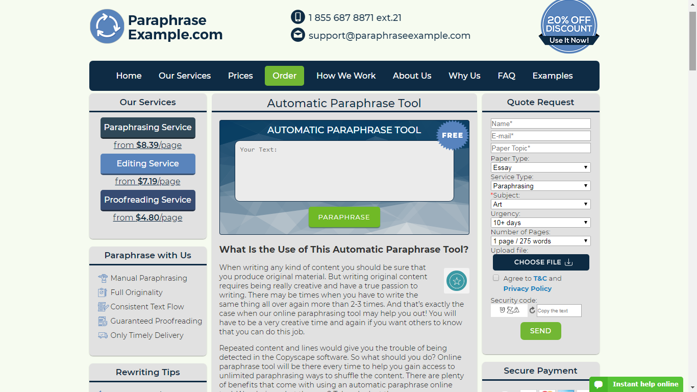 best unplagiarized generator tool