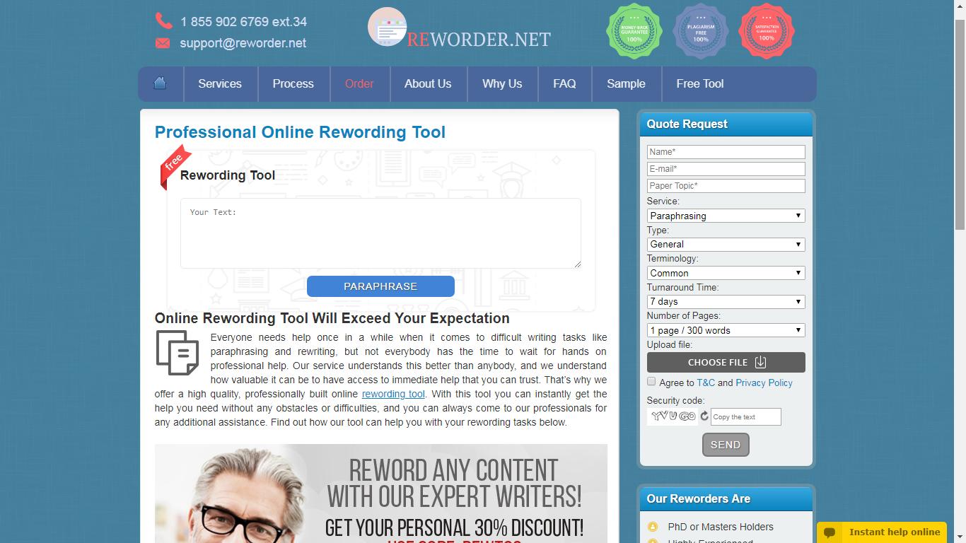reworder.net review