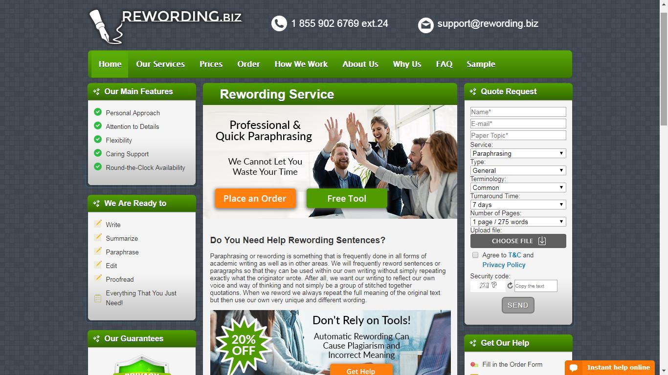 rewording.biz review
