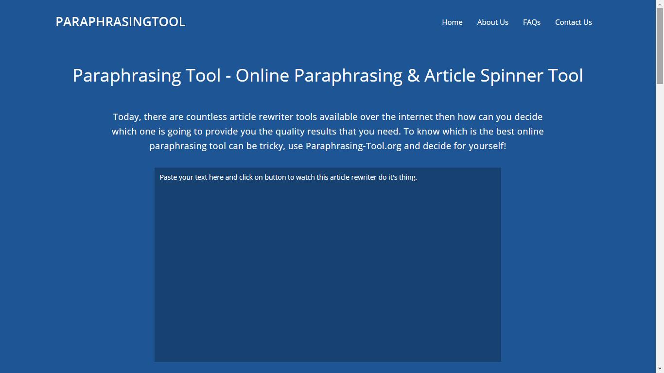 paraphrasing-tool.org english paraphrasing tool